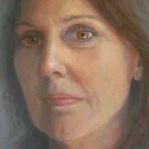 AUTORITRATTO   pastello su tavola  cm 40x60 anno 2011  COLLEZIONE ARTISTA