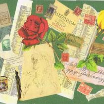 les deux roses (27 x 20,5 cm)
