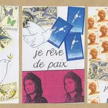 je rêve de paix 1 (29 x 14 cm)