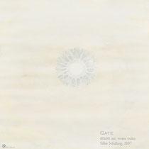 GATE, 60x60cm, Aquarell, 2007