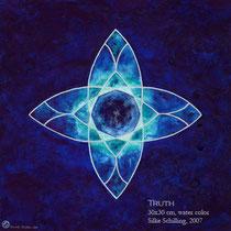 Truth, 30x30cm, 2007