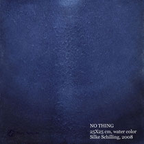 NO THING, 25x25cm, water color, 2008