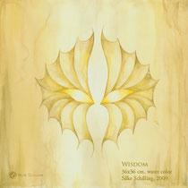 WISDOM, 42x42cm, water color, 2009