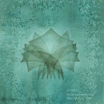 SEVEN, 38x38cm, water color, 2009