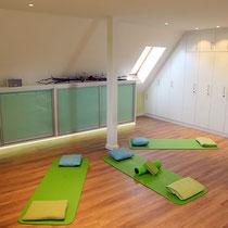 Yoga- und Pilatesstudio, sowie Seminarraum