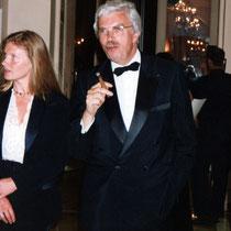 Daniel Toscan du Plantier et sa femme Sophie - Festival de Cannes 1992 - Photo © Anik COUBLE