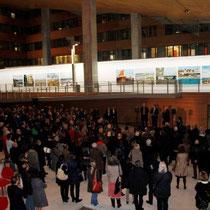 Vernissage de l' exposition de Raymond Depardon, au siège de la Région Rhône-Alpes  © Anik COUBLE