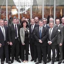 La photo de groupe de tous les partcipants - Lyon - Oct 2013 - Photo twittée par Jean-Louis Gagnaire