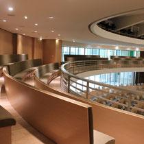 La salle des délibérations, du siège la Région Rhône-Alpes © Anik COUBLE