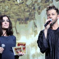 Jenifer et Christophe Mae - Bal des enfoirés - Lyon - février 2012 © Anik COUBLE