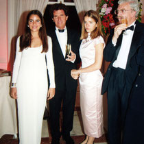 A droite, Daniel Toscan du Plantier et  Jack Lang - Festival de Cannes - 1994 - Photo © Anik COUBLE