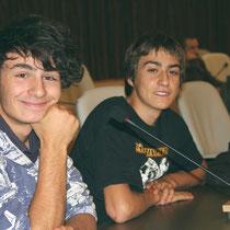 2 lycéens - Lyon - 0ctobre 2011  © Anik COUBLE