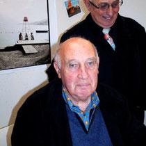 Raymond Depardon et son frère Jean - Lyon - Novembre 2012 © Anik COUBLE