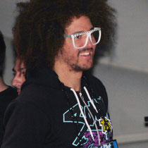 Redfoo de LAMFAO - Cannes 2012 / Photo : Anik COUBLE