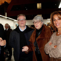 Jean-Jack Queyranne, Thierry Fremaux, Claudine Nougaret et Farida Boudaoud  © Anik COUBLE