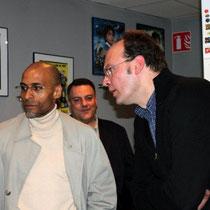 Jean-Pierre AMERIS et le danseur chorégraphe Fred BEGONDE / Photo : Anik COUBLE