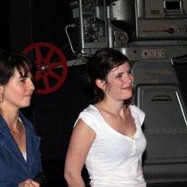 """Sophie Laloy et Judith Davis, venues présenter le film """"Je te mangerai """"  / Photo Anik Couble"""