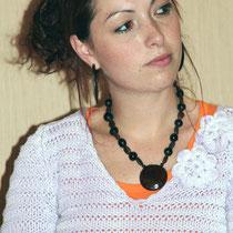 Adélaïde Wagner, porte parole de l'atelier citoyen - Lyon - 0ctobre 2011  © Anik COUBLE
