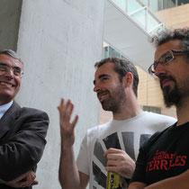 Jean-Jack Queyranne, Nicolas Thomas (France) et Jérome Catz  - Lyon - Septembre 2011 © Anik COUBLE