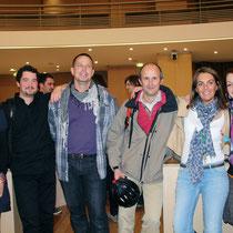 Le service Environnement et des membres de l'atelier citoyen - Lyon - 0ctobre 2011  © Anik COUBLE