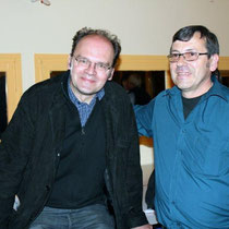 Jean-Pierre AMERIS et Jean-Claude FRENETTE / Photo : Anik COUBLE