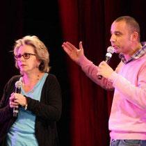 Maurad et Françoise LABORDE - Photo © Anik COUBLE