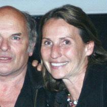 Jean-François Stevenin et sa femme Claire / Photo Anik Couble