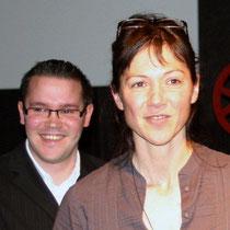 Sévy WEBER, présidente du Jury et Jérémy FRENETTE / Photo : Anik COUBLE