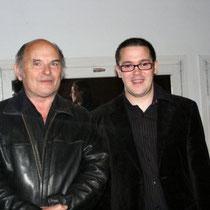 Jean-François Stevenin et  Jérémy Frenette  / Photo Anik Couble