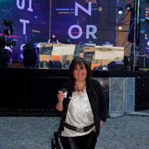 Anik Couble,  pour l'ouverture des Nuits Sonores - Mai 2013 - Lyon