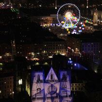 Fête des Lumières - Lyon - décembre 2011 © Anik COUBLE