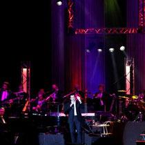 Laurent Gerra en spectacle à Lyon, le 10 novembre 2012 © Anik COUBLE
