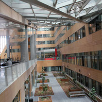 L'Atrium, du siège la Région Rhône-Alpes © Anik COUBLE
