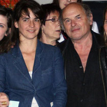Sophie Laloy,  Judith Davis, Jean-François Stevenin et sa femme Claire  / Photo Anik Couble