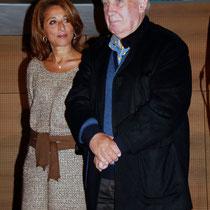 Farida Boudaoud et Raymond Depardon - Lyon - Novembre 2012 © Anik COUBLE