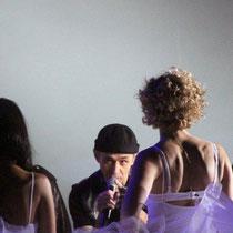 Shym, Lorie et Jean-Jacques Goldman - Bal des enfoirés - Lyon - février 2012 © Anik COUBLE
