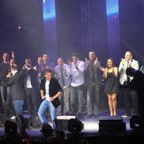 Toute l'équipe de Radio Scoop - Lyon - 25 avril 2012 © Anik COUBLE