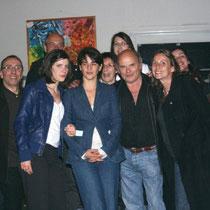 Le Jury 2009 et Jérémy Frenette, coordinateur du Festival   / Photo Anik Couble