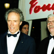 Daniel Toscan du Plantier et Clint Eastwood - Paris - 1998 - Photo © Anik COUBLE