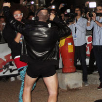 Redfoo de LAMFAO  et CAUET  - NRJ Music Awwards 2012 / Photo : Anik COUBLE