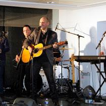"""""""Les Chics Types"""" en concert """"live"""" à la Région - Janvier 2013 © Anik COUBLE"""