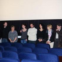 Sévy WEBER, entouré de son jury,  annonce le palmares 2010 / Photo : Anik COUBLE