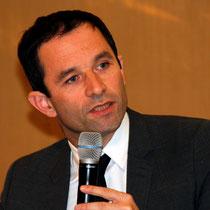 Benoît Hamon - Journées de l'Economie (Jéco) - Lyon - Novembre  2013 - Photo © Anik COUBLE