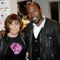 Lucien Jean-Baptiste et Mireille Ferrand de Rhône-Alpes Cinéma   / Photo Anik Couble