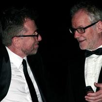 Tim Roth et Thierry Fremaux - Festival de Cannes - 2012 - Photo © Anik COUBLE