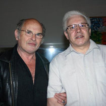 Jean-François Stevenin et Daniel Patural  / Photo Anik Couble