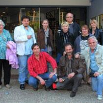 Le jury du 10e festival du film rhônalpin / Photo : Anik COUBLE