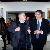 Thierry Fremaux et Jean-Jack Queyranne - Lyon - Novembre 2012 © Anik COUBLE