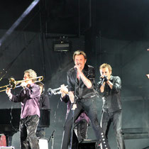 Johnny Hallyday et ses musiciens - Lyon - Juin 2012 © Anik COUBLE