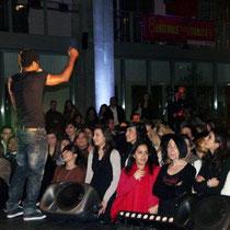 Concert de Rost, rappeur militant - Photo © Anik COUBLE